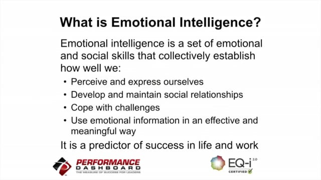 Emotional Intelligence: A Predictor of Success in Life and Work